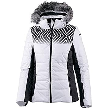 d7ef5af7f705 Icepeak Veruca Kunstpelzkragen Skijacke Damen Weiss *UVP 149,99 48 ...