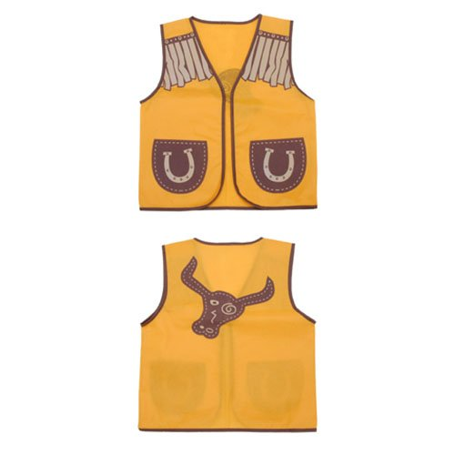 ToySource 6 Dress up Vest-Western Cowboy-16 x 20 Inches C...