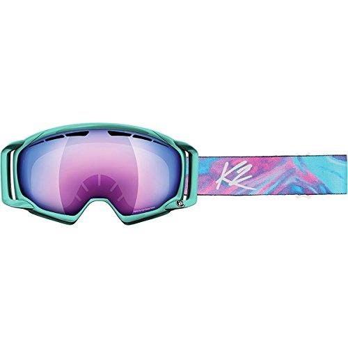 Vorschaubild K2 Skis Damen Skibrille Captura Zeiss, Aqua Swirl Purple Twilight