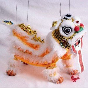 Dragon Marionette - Marionette Style Puppet - Chinese New Year Dragon - For Play or Display Any Time of Year! by Asia Overstock