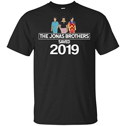 The Jonas Brothers Saved 2019 t-Shirt for Music Lovers (Unisex T-Shirt;Black;XL)