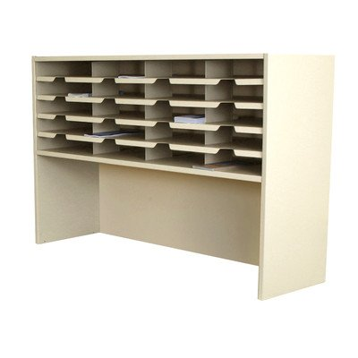 Mailroom 20 Pocket Sorter/Riser Finish: Putty by Marvel