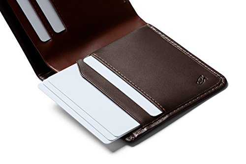 bills slim and Square wallet Java cards leather Bellroy Max 12 Wallet flat OE78v
