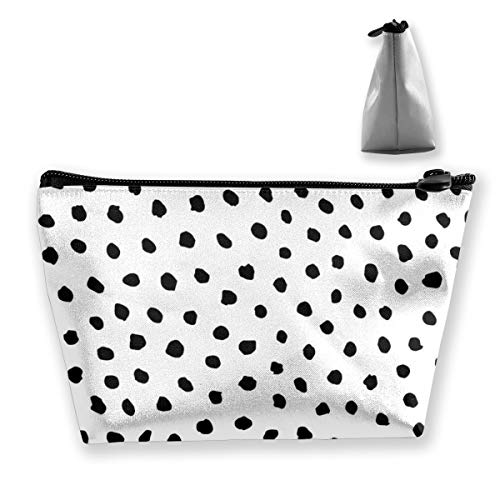 - Yunshm Irregular Dot Pattern Customized Trapezoidal Handbag Ladies Waterproof for Carrying Travel