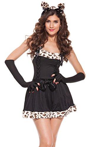 April (Sex Kitten Leopard Adult Womens Costumes)