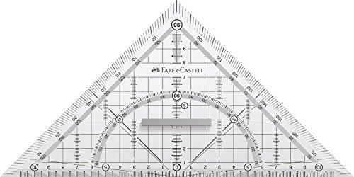 Faber-Castell Grip Triángulo 171.010 geometría con Grip 22 CM