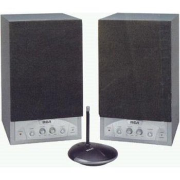 RCA Wsp255Rs 900Mhz Rf Wireless Speakers
