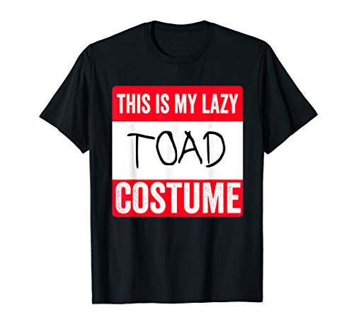 This is my lazy Toad costume Shirt