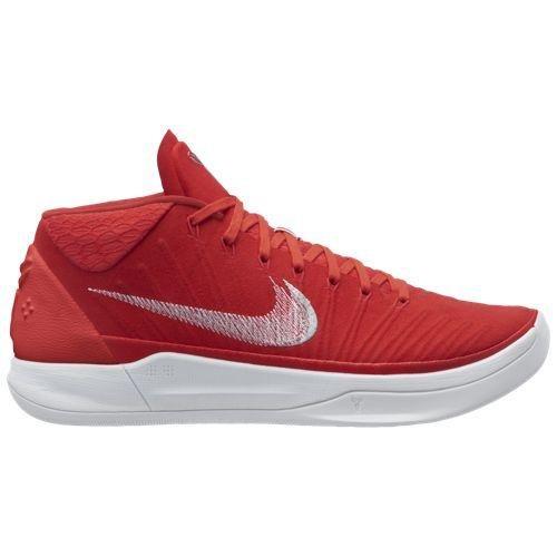 ナイキ バスケットボールシューズ コービー A.D. メンズ [並行輸入品] University Red/Metallic Silver/White US10(28.0cm) B07C9F1NNG