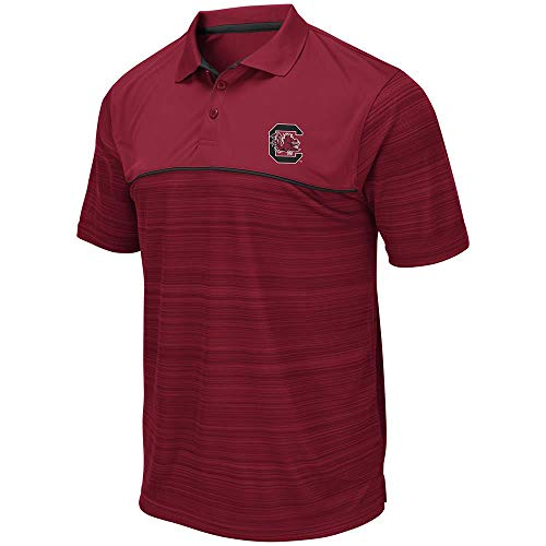 (Mens South Carolina Gamecocks Levuka Polo Shirt - L)