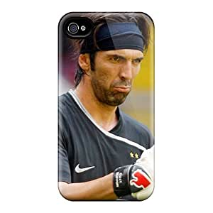 Top Quality Rugged The Player Of Juventus Gianluigi Buffon Is Thumbs Up Case Cover For Iphone 4/4s