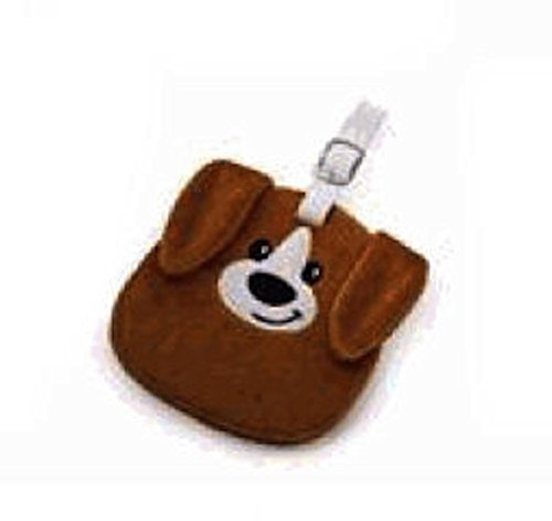 (Russ Berrie - Luggage Tag - Plush Puppy Dog)