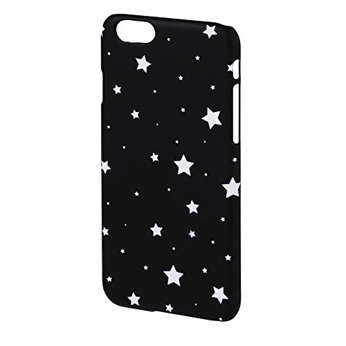 Hama Luminous Stars Cover für Apple iPhone 5/5S, Schwarz/Weiß