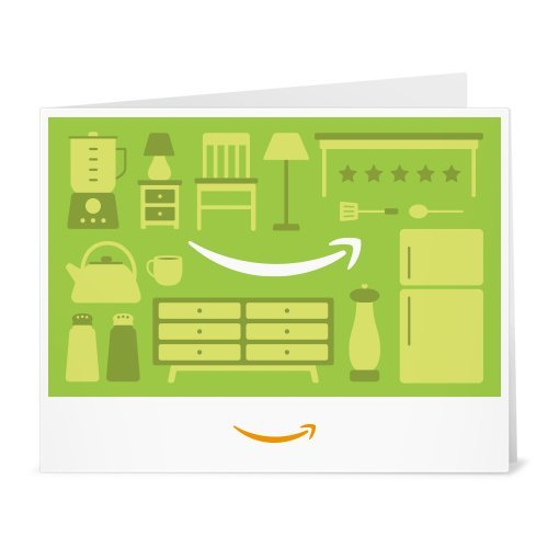 Amazon Gift Card - Print - Home Icons