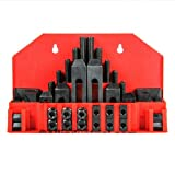 New 58 Pcs Pro-Series 5/8'' T-Slot Clamping Kit Bridgeport Mill Set Up Set 1/2-13 -Excellent stability For professionals