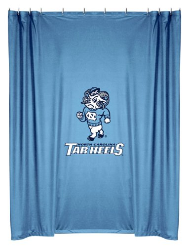 Tar Heels Shower Curtain - 1
