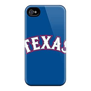 Luoxunmobile333 Cases Covers Protector Specially Made Ipod Touch 4 Baseball Texas Rangers 3