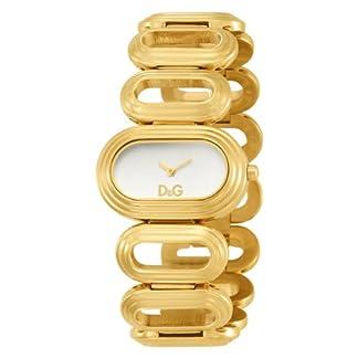 D&G Dolce&Gabbana DW0618 – Reloj para mujeres color dorado