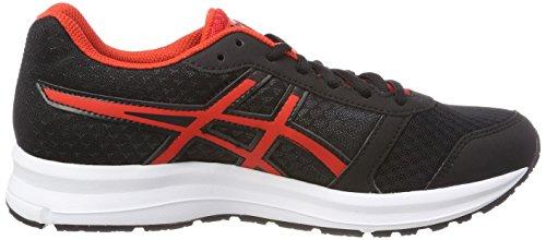 Asics Patriot Chaussures De 9 Running 9023 Noir Red black Homme white fiery rrwdAqF