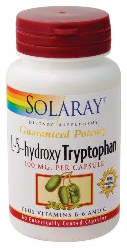 Solaray - L-5-hydroxy tryptophane, 100 mg, 60 capsules