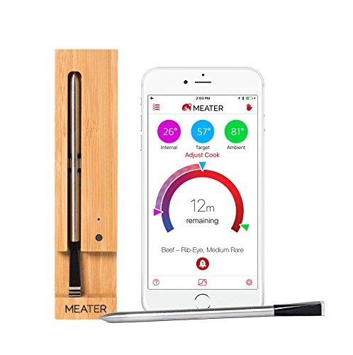 MEATER | Termometro Bluetooth Fino a 10 Metri a Sonda Senza Fili Per Forno, Grigliate, Barbecue. App in Italiano… 1