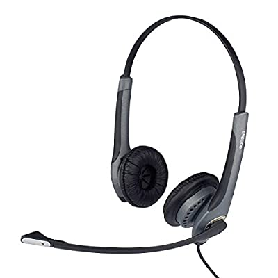 Jabra GN2025 Duo Noise Cancelling Corded Headset for Deskphone by Jabra