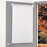 Magne Blind Aluminum magnetic Mini Blind 25Wx68 1/2L(drop) in White