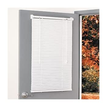 Decorating window covering for door : Amazon.com: Magne Blind Aluminum magnetic Mini Blind 25Wx68 1/2L ...