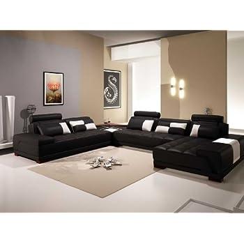 Amazon Com Vig Furniture Vgev Sp 5005bblk Divani Casa