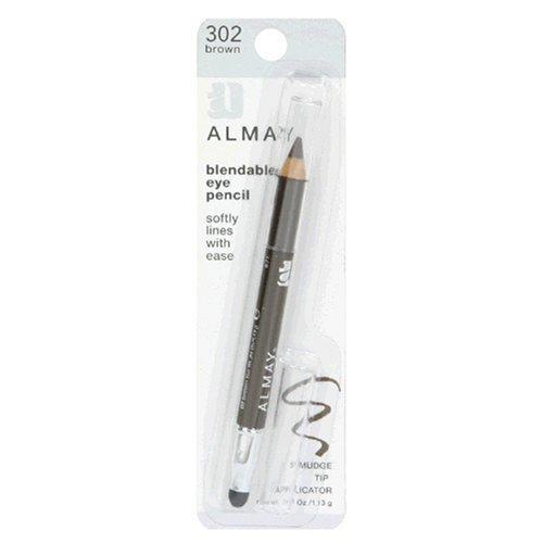 Almay Blendable Eye Pencil, Brown .04 fl oz (1.13 g) Revlon Brown 302