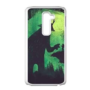 LG G2 Cell Phone Case White EMANCIPATOR Yodbw