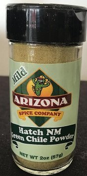 Green Chile Powder, Hatch NM Mild 2 - New Mexico Chile Green Powder