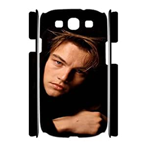 Qxhu Leonardo DiCaprio patterns Hard Plastic Cover Case for Samsung Galaxy S3 I9300 3D case