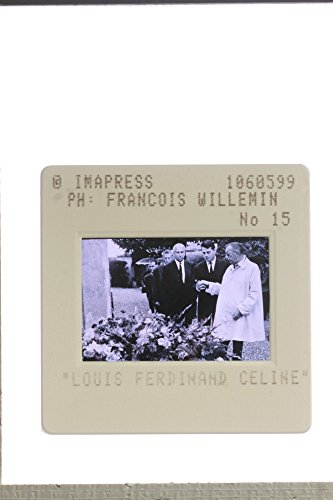 Slides photo of Louis-Ferdinand C233;line gathered with other people while talking.