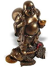 Skrattande Buddha, Feng Shui, lyckobringare toad, för lycka och välstånd