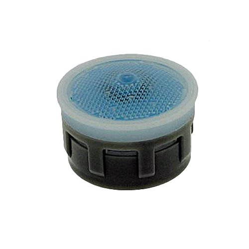 Regular Pack of 6 Laminar Honeycomb No Washer 1.8 GPM Neoperl 14 9350 3 California Standard Flow PCA Perlator HC Aerator Insert Light Blue//Clear Dome