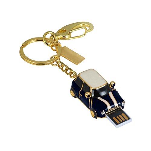 U-Disk, Aribelly Vintage car USB 2.0 1GB/2GB/4GB/8GB/16GB/32GB/64GB flash memory stick storage U disk Red (32GB, Blue) from Aribelly