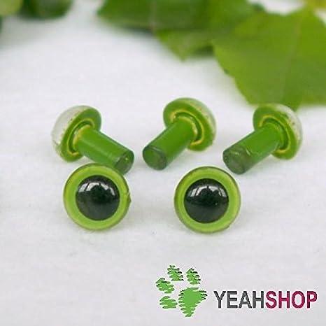 Amazon.com: Dalab 100Pcs/Boxes Kawaii Plastic Safety Eyes DIY ... | 466x466