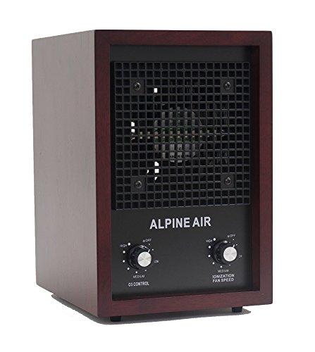 Alpine Air Purifier Ionizer Cherry
