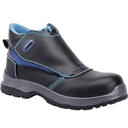Paredes COLTAN NEGRO PAREDES SP5021-NE/45 - Bota seguridad negra y azul para