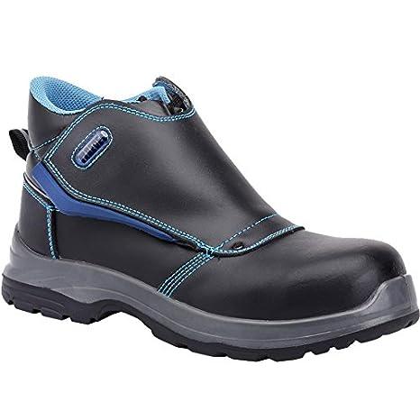 Paredes COLTAN NEGRO PAREDES SP5021-NE/43 - Bota seguridad negra y azul para