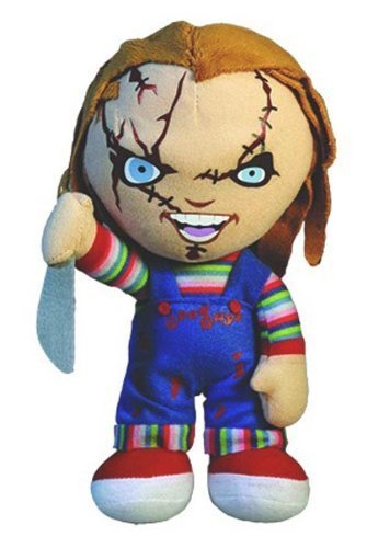8'' Chucky Scary Plush Toy by Mezco