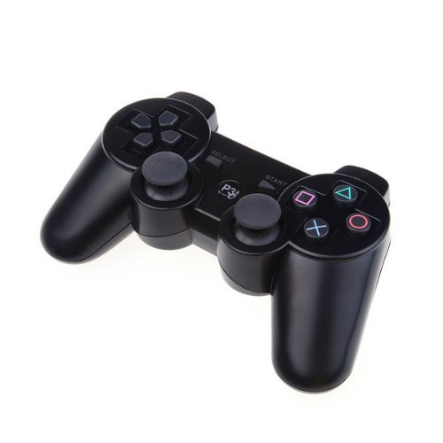 Wireless Game Controller for Sony PlayStation 3 Rumble Feature PS3 Black