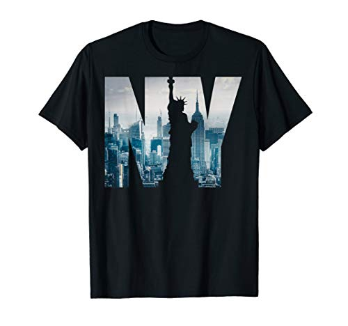 New York City T-shirt, NYC Fashion, New York City Skyline T-Shirt