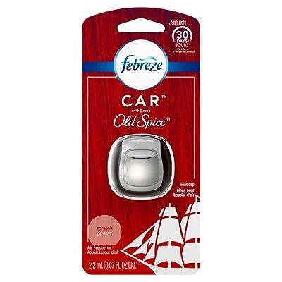 Febreze Car Old Spice Air Freshener Vent Clip-1ct: Automotive