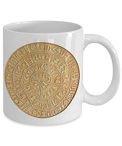 - Phaistos Disc Coffee Mug - Crete Gifts