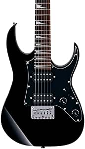 Ibanez GRGM21BKN 3/4 Size Mikro Electric Guitar - Black Night Finish
