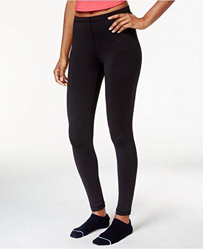 Ideology Womens ID Warm Fleece Lined Yoga Athletic Leggings Black M