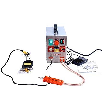 Spot Soldador batería soldadura soldadora forbattery Pack soldadura precisión pulso Spot soldadores energía móvil paquete de