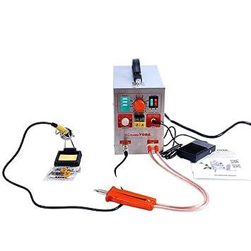 Spot Soldador batería soldadura soldadora forbattery Pack soldadura precisión pulso Spot soldadores energía móvil paquete de la batería de la soldadora: ...
